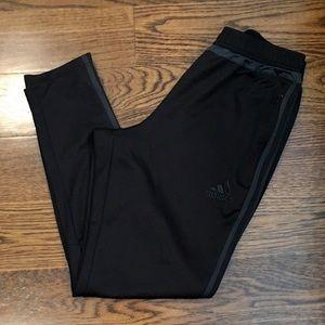 ADIDAS Tiro Grey Tapered Training Pants Large